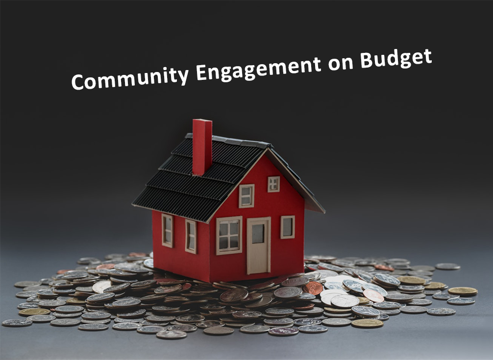 Community engagement on a budget